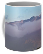 Sunset Panorama Mountain Range In Paparoa Np Nz Coffee Mug