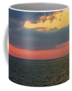 Sunset Panorama Over Atlantic Ocean Coffee Mug