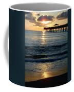 Sunset Pier Coffee Mug