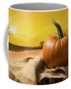Sunset Pumpkin Coffee Mug