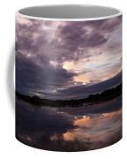 Sunset Reflected In A Lake Coffee Mug