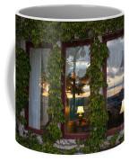 Sunset Reflection On Empress Window Coffee Mug