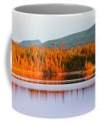 Sunset Reflections On Boreal Forest Lake In Yukon Coffee Mug