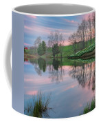 Sunset Reflections Square Coffee Mug