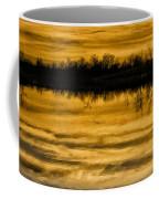 Sunset Riverlands West Alton Mo Sepia Tone Dsc03319 Coffee Mug