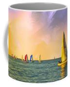 Sunset Sailing Coffee Mug