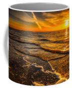 Sunset Seascape Coffee Mug by Adrian Evans