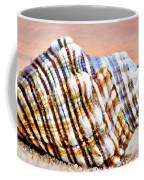 Sunset Seashell Coffee Mug