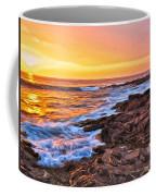 Sunset Shore Break Coffee Mug
