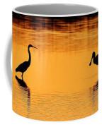 Sunset Silhouette Coffee Mug by Al Powell Photography USA
