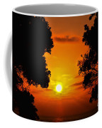 Sunset Silhouette By Diana Sainz Coffee Mug