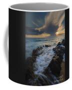 Sunset Spillway Coffee Mug