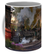 Sunset Steam Coffee Mug