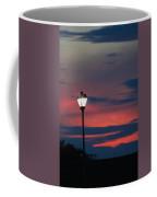 Sunset Streetlight Coffee Mug