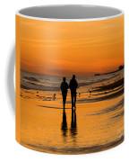 Sunset Stroll Coffee Mug by Al Powell Photography USA