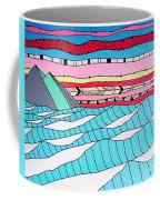 Sunset Surf Coffee Mug by Susan Claire
