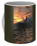 Sunset Surfers Coffee Mug