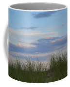 Sunset Through Grass Coffee Mug