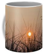 Sunset Through The Grass - Villas New Jersey Coffee Mug by Bill Cannon