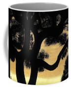 Sunset Through The Oak Trees Coffee Mug