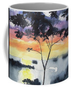 Sunset Tree Koh Chang Thailand Coffee Mug