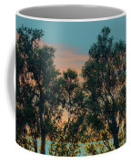 Sunset Trees Coffee Mug