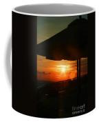 Sunset Under The Umbrella By Diana Sainz Coffee Mug