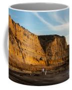 Sunset Walk At Flat Rock  La Jolla California Coffee Mug