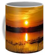 Sunset Walk In The Water Coffee Mug