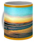 Sunset With Birds Coffee Mug