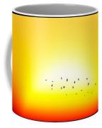 Sunset With Birds... Coffee Mug