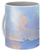 Sunset With Rain Coffee Mug