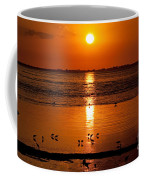 Sunset With The Birds Photo Coffee Mug