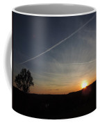 Sunset With Trees 2 Coffee Mug