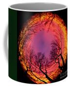 Sunset World Of Trees Coffee Mug