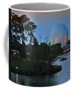 Sunset World Showcase Lagoon Coffee Mug