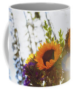 Sunshine And Sunflowers Coffee Mug