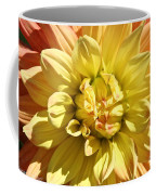 Sunshine Dahlia Coffee Mug