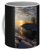 Sunshine On The Ice - Lake Ontario Toronto Canada Coffee Mug