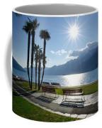 Sunshine Over A Lake Front Coffee Mug