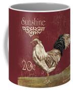 Sunshine Rooster Coffee Mug by Debbie DeWitt