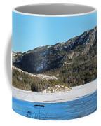 Sunshine - Shadows - Snowmobile Tracks Coffee Mug