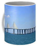 Sunshine Skyway Bridge II Tampa Bay Florida Usa Coffee Mug