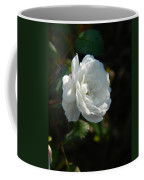 Sunshine White Rose Coffee Mug
