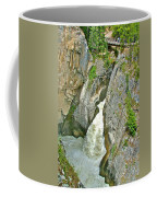 Sunwapta Falls Along  Icefields Parkway In Alberta Coffee Mug