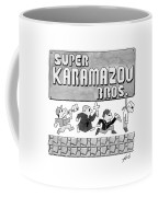 Super Karamazov Bros. -- A Parody Of Mario Coffee Mug