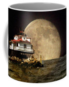 Super Moon Lighthouse Coffee Mug