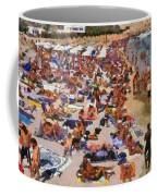 Super Paradise Beach In Mykonos Island Coffee Mug