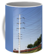 Super Power Pole And Wires Coffee Mug
