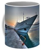 Super Yacht At Nafplion  Coffee Mug